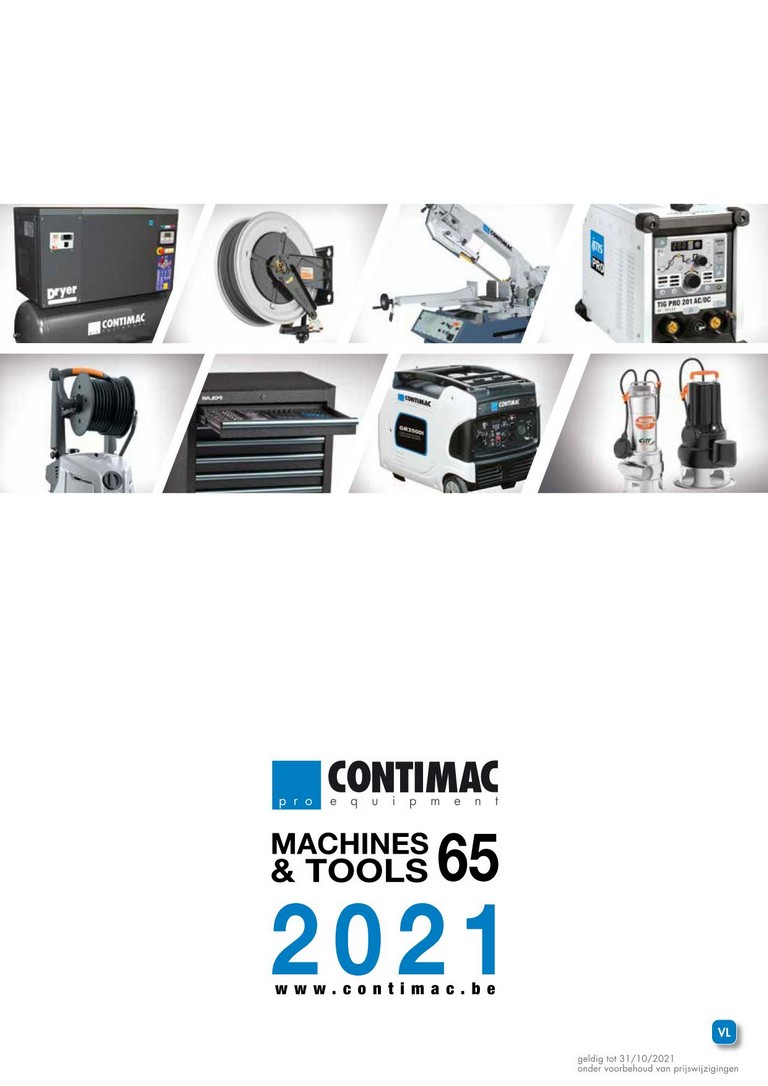 Contimac: machines & tools! tot 31-12-2018