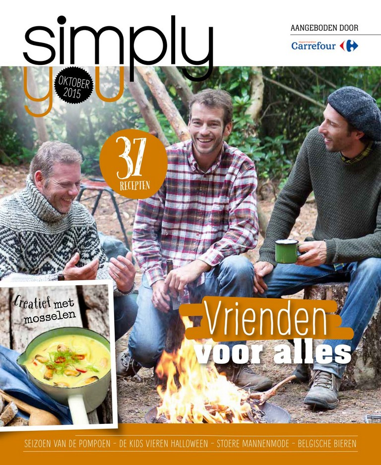 Carrefour: Simply You 2015-10