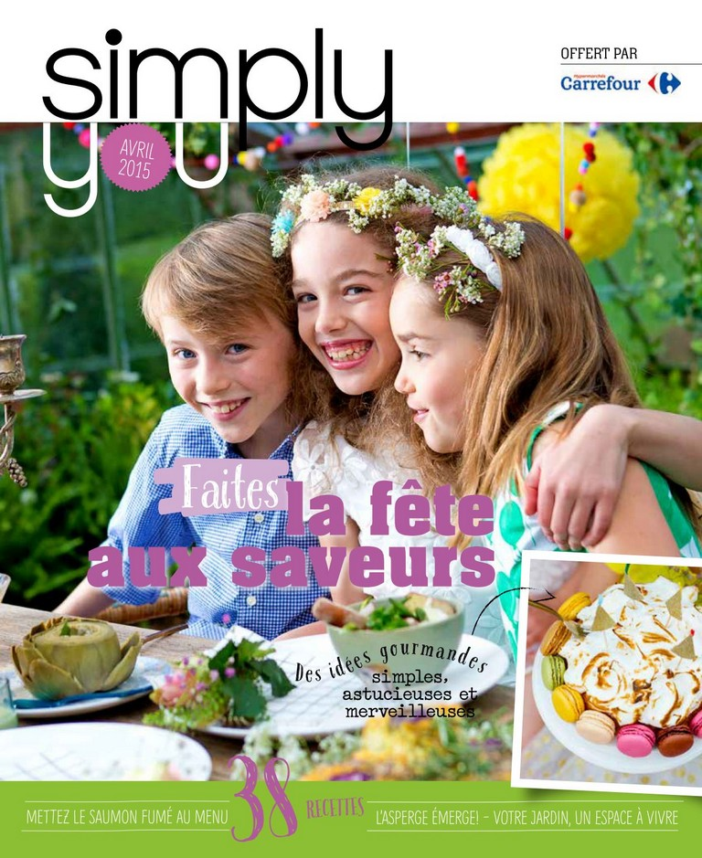 Carrefour: Simply You 2015-04