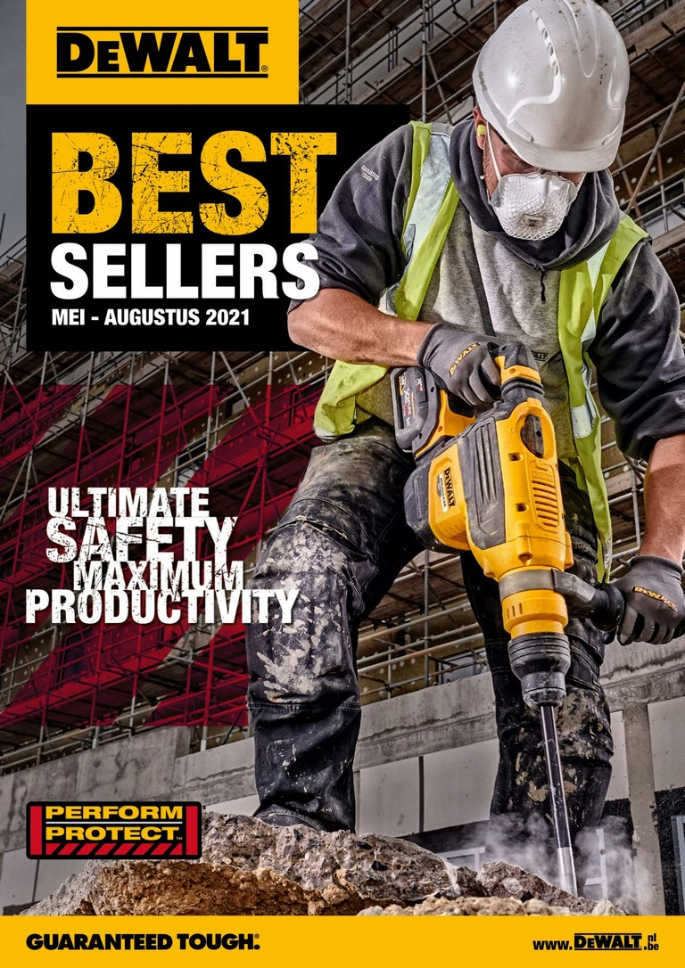 DeWalt: Best sellers 01-09-2018 - 31-01-2019