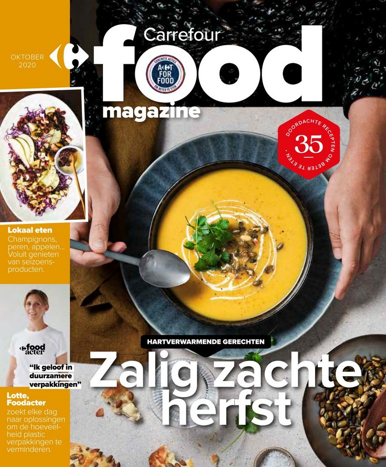 Carrefour - Food Magazine - Oktober 2020