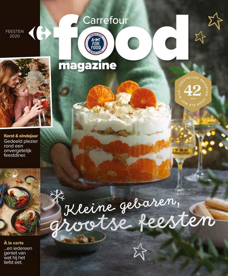 Carrefour - Food Magazine - Feesten 2020