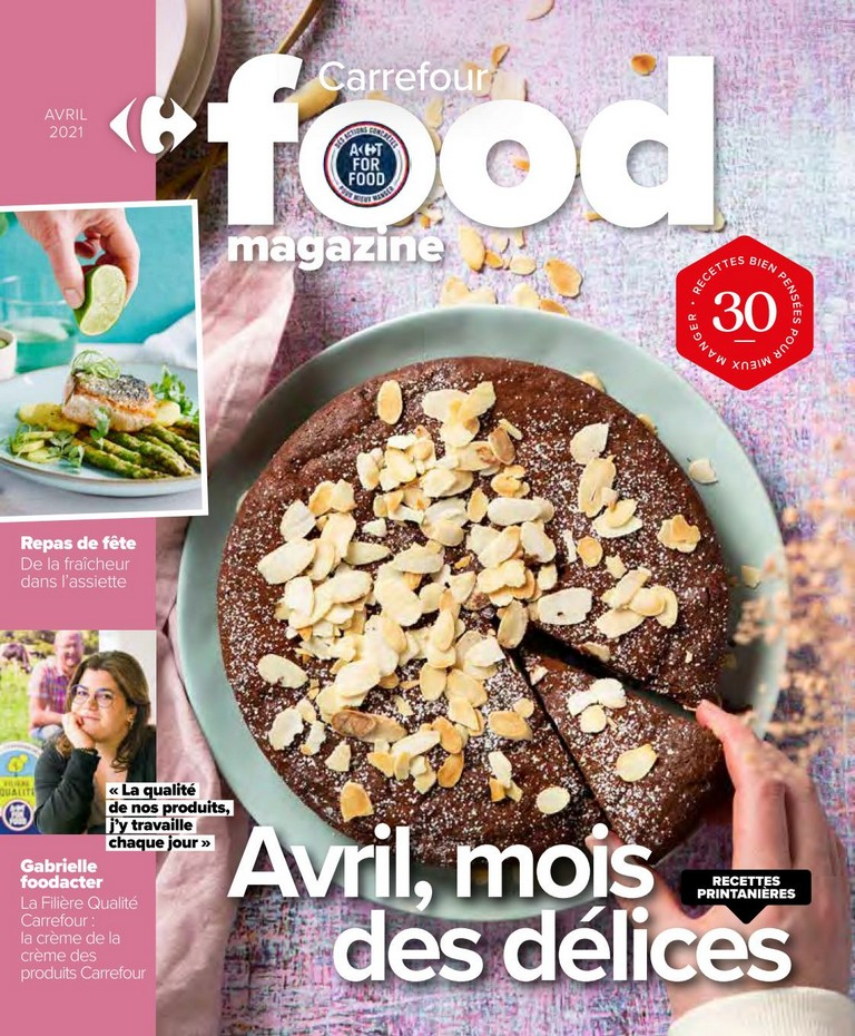 Carrefour - Food Magazine - Avril 2021